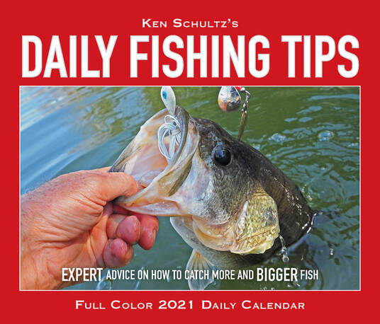 Ken Schultz's Daily Fishing Tips calendar   KEN SCHULTZ